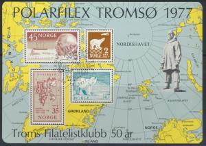 Norwegen Sonderdruck Polarfilex Tromsø 1977 Tiere Eisbären Polarexpedition