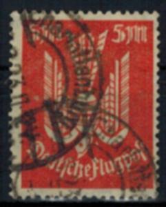 Deutsches Reich 263 Flugpost Infla 5 Mark Holztaube geprüft gestempel Kat 55,00