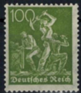 Deutsches Reich 187 c Luxus postfrisch MNH geprüft Infla OE Kat-Wert 22,-
