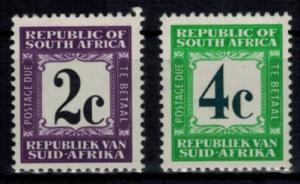 Südafrika P 67-68 Portomarken 2 + 4c jeweils gezähnt K 14 Luxus postfrisch MNH