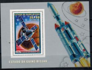 Guinea-Bissau zwei Blockausgaben Unternehmen Viking postfrisch 1976