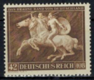 D. Reich 780 Das braune Band Tiere Pferde Sport Luxus postfrisch MNH Kat 12,00