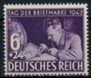 Deutsches Reich 811 Tag der Briefmarke Luxus postfrisch MNH Kat.-Wert 4,00