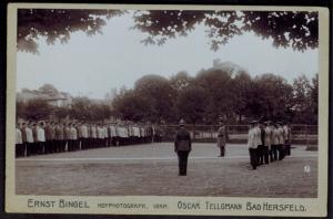 Original Fotoplatte Kaiser Wilhelm Deutsche Truppen E. Bingel Hoffotograf