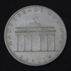 DDR Gedenkmünze 5 Mark Berlin Hauptstadt der DDR 1971 vorzüglich vz
