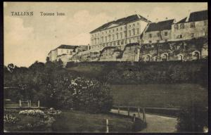 Estland Ansichtskarte von Tallinn nach Hamburg 27.1.1925