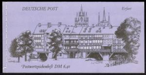 DDR Markenheftchen 10 Bauwerke und Denkmäler 1990 tadellos postfrisch