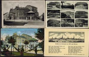 Ansichtskarten Dortmund neun alte AK meist gelaufen 1900-1936