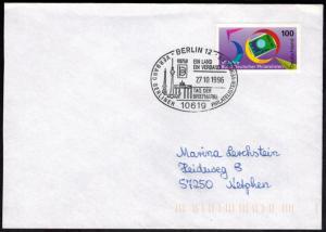 Bund Berlin Brief Verband Philatelisten SST Tag der Briefmarke Brandenburger Tor
