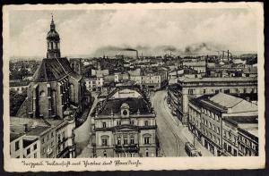 Ansichtskarte Troppau Schlesien Tschechien Deutsches Reich Feldpost NS-Zensur
