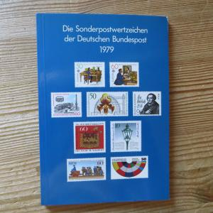 Bund/Berlin Jahrbuch Deutsche Bundespost 1979 komplett postfrisch