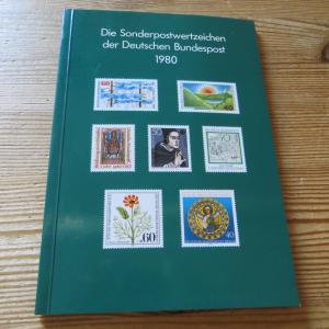 Bund/Berlin Jahrbuch Deutsche Bundespost 1980 komplett postfrisch