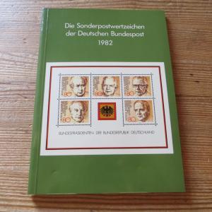 Bund/Berlin Jahrbuch Deutsche Bundespost 1982 komplett postfrisch