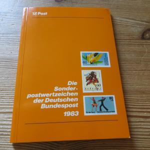 Bund/Berlin Jahrbuch Deutsche Bundespost 1983 komplett postfrisch