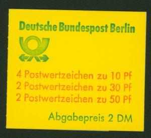 Berlin Markenheftchen 11 f oZ Burgen und Schlösser 1980 tadellos postfrisch