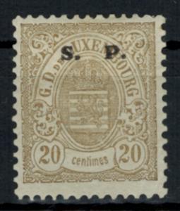 Luxemburg Dienstmarke 32 II Aufdruck