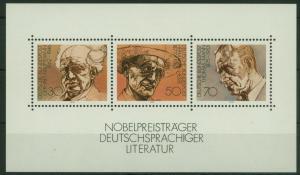 Bund Block 16 Nobelpreisträger 1978 tadellos postfrisch
