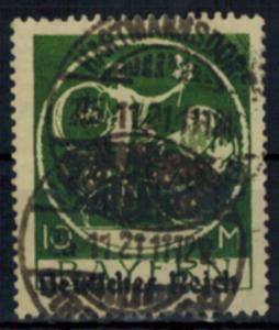 Deutsches Reich 137 Topwert 10 Mark Abschiedsserie 1920 sauber gestempelt