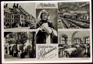 Ansichtskarte München Hofbräuhaus Bayern