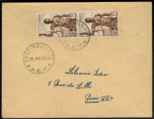Zentralafrika Owando Fort Rousse Kongo MEF 5 Fr. Fischfang Paris Frankreich 1950
