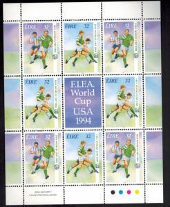 Irland 857-858 Kleinbogen Fußball-Weltmeisterschaft 1994 USA tadellos postfrisch
