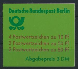 Berlin Markenheftchen 14 oZ Sehenswürdigkeiten 1989 Luxus postfrisch Kat.28,00