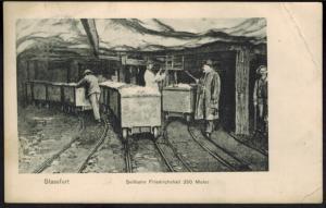 Ansichtskarte Stassfurt Seilbahn Friedrichshall Bergbau Zeche 1907 n. Köln-Ehre.