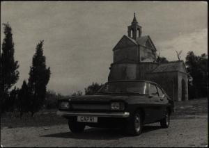 Ansichtskarte Auto Ford Capri
