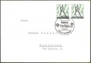 Deutsches Reich Brief MEF 745 mit SST München Begegnung Hitler - Mussolini 1940