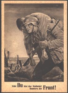 Ansichtskarte Generalgouvernement Maßstab ist die Front Künstlerkarte SST Krakau