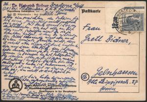 All. Besetzung Brief Gemeinschaft 920 Bogenecke Eckrand Wennigstein Schleswig