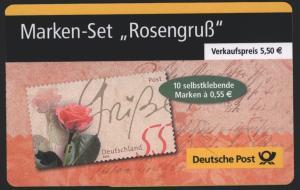 Bund Markenheftchen MH 51 a Rosengruß 2003 Ersttagsstempel BERLIN