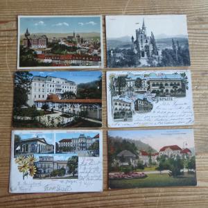 Ansichtskarten Sammlung Teplitz Schönau Sudetenland 1895-1945 84 Stück Teplice
