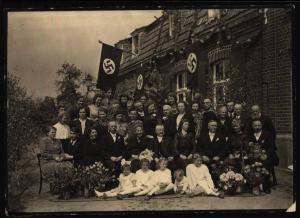 Propaganda Unbestimmtes Original Foto während der NS-Zeit Familienjubiläum