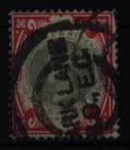 Großbritannien 101 Königin Victoria 1 Shilling 1900 sauber gestempelt