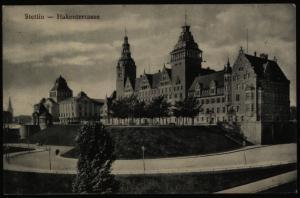 Ansichtskarte Stettin  Marine Schiffspost No. 23614.10.1917 n. Altena Ottensen