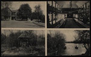 Ansichtskarte Altrahlstedt Hamburg Bes. H. Hup  28.4.1913 nach Altena Ottensen