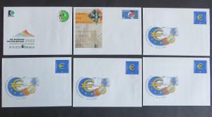 Bund Ganzsachen Umschläge 61 Stück dabei für 27,- Nominale incl. 2 Karten meist
