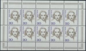 Bund 1939-1940 Frauen 110 + 220 Pfg. je im Zehnerbogen tadellos postfrisch