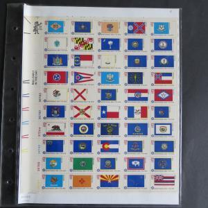 USA 1203-1252 200 Jahre Unabhängigkeit 1976 Zusammendruckbogen postfrisch **