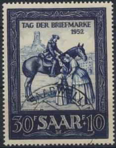 Saarland 316 Motivbriefmarken-Ausstellung