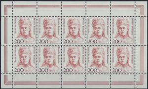 Bund Kleinbogen 1498 200 Pfennig Frauen der Geschichte postfrisch 1991