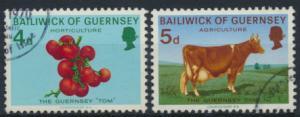 Guernsey 31-34 Heimische Landwirtschaft gestempelt 1970