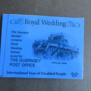 Guernsey Souvenir Booklet Royal Wedding MiNr 225-227 postfrisch 1981