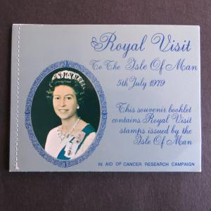 Isle of Man Souvenir Booklet Royal Visit MiNr 150 postfrisch 1979