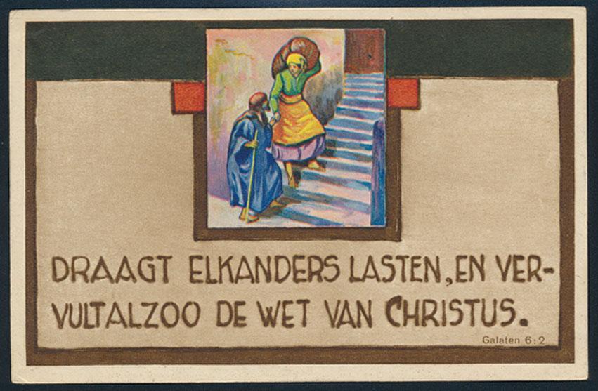 Ansichtskarte Künstler Niederlande Religion Glaube Kirche Christus 0