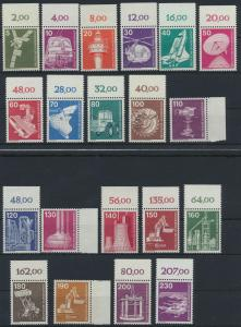 Bund Industrie und Technik ex 846-1138 postfrisch viel Oberränder Seitenränder