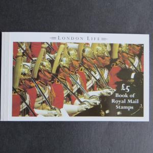 Großbritannien Markenheftchen 91 London Life Prestige Book 5 Pfund postfrisch