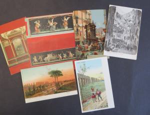 Ansichtskarte Italien schönes Lot von 23 alten Original-Karten
