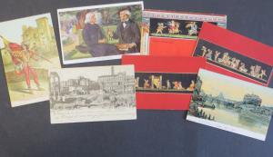 Ansichtskarte Italien schönes Lot von 25 alten Original-Karten
